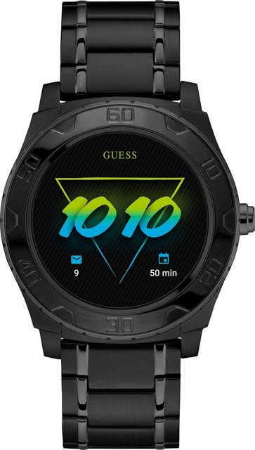 Smartwatches - GUESS CONNECT ACE, C1001G5 Smartwatch (Android Wear)  - Onlineshop OTTO