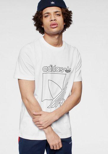 adidas Originals T-Shirt »SPORT 3 STRIPES TEE«