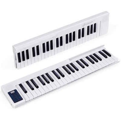 COSTWAY Digitalpiano »88 Tastatur digitale Keyboard«, mit 128 Rhythmen, 128 Töne, Bluetooth, Lautsprecher