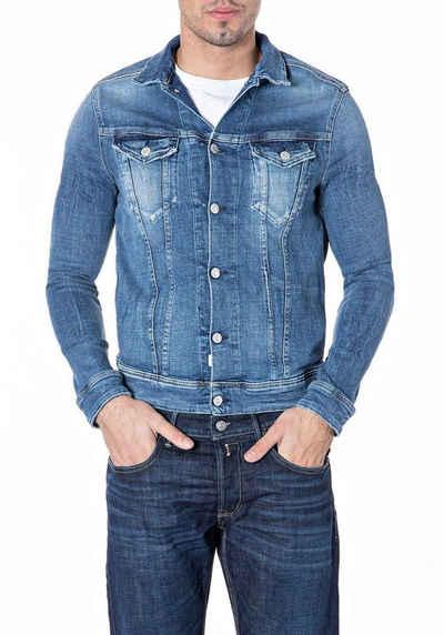 Replay Jeansjacke modisch gewaschen
