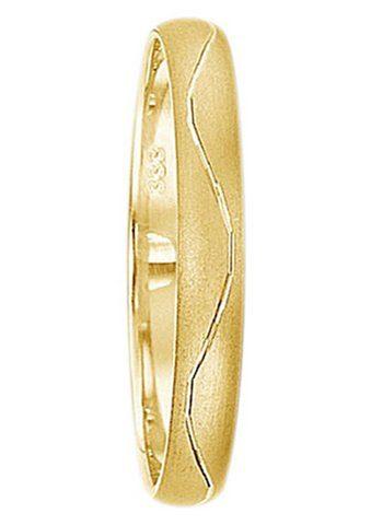 Firetti Trauring mit Gravur »3,0 mm, matt, Diamantschnitt« Made in Germany, wahlweise mit oder ohne Brillant