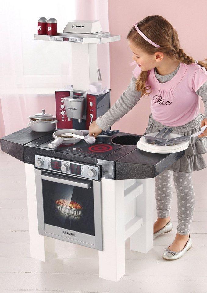 Klein elektronik spielkuche style bosch kaufen otto for Spielküche bosch