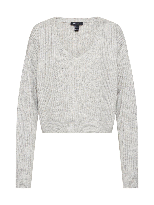 New Look V Ausschnitt Pullover, Gerader Saum online kaufen | OTTO