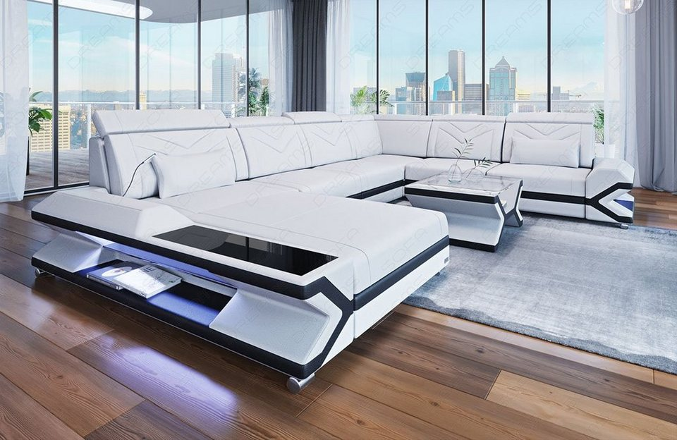 Sofa Dreams Wohnlandschaft »Napoli«, U Form XXL   OTTO