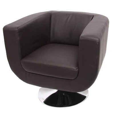 MCW Loungesessel »Modena II«, 360° drehbar, Extradicke Polsterung, Lounge-Sessel in Designer-Optik