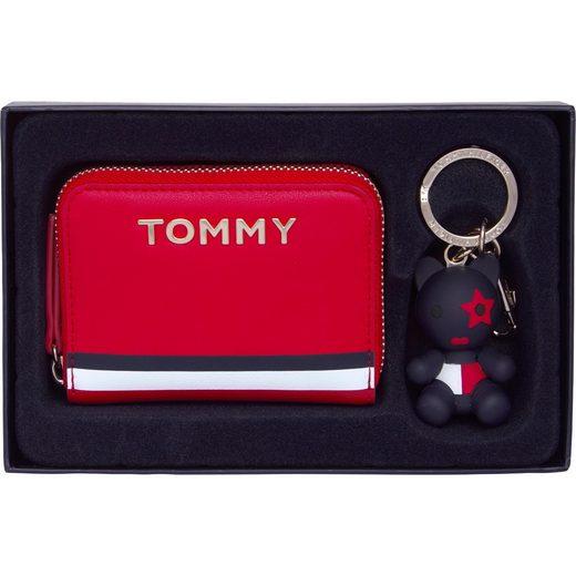 TOMMY HILFIGER Mini Geldbörse, mit Schlüsselring