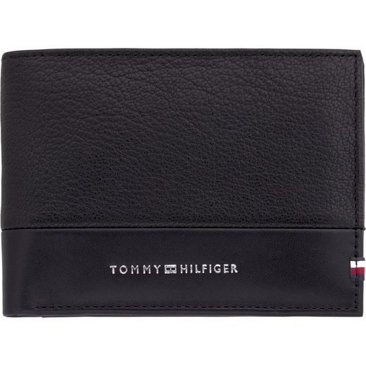 TOMMY HILFIGER Geldbörse »TEXTURED EXTRA CC AND COIN«
