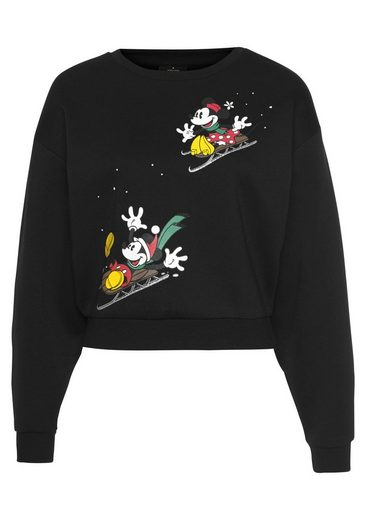 Only Sweatshirt mit X-Mas Motiv