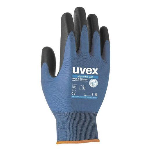 Uvex Arbeitshose »Phynomic WET« wasserdicht und griffsicher