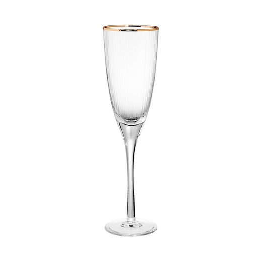 BUTLERS GOLDEN TWENTIES »Champagnerflöte mit Goldrand 250ml«