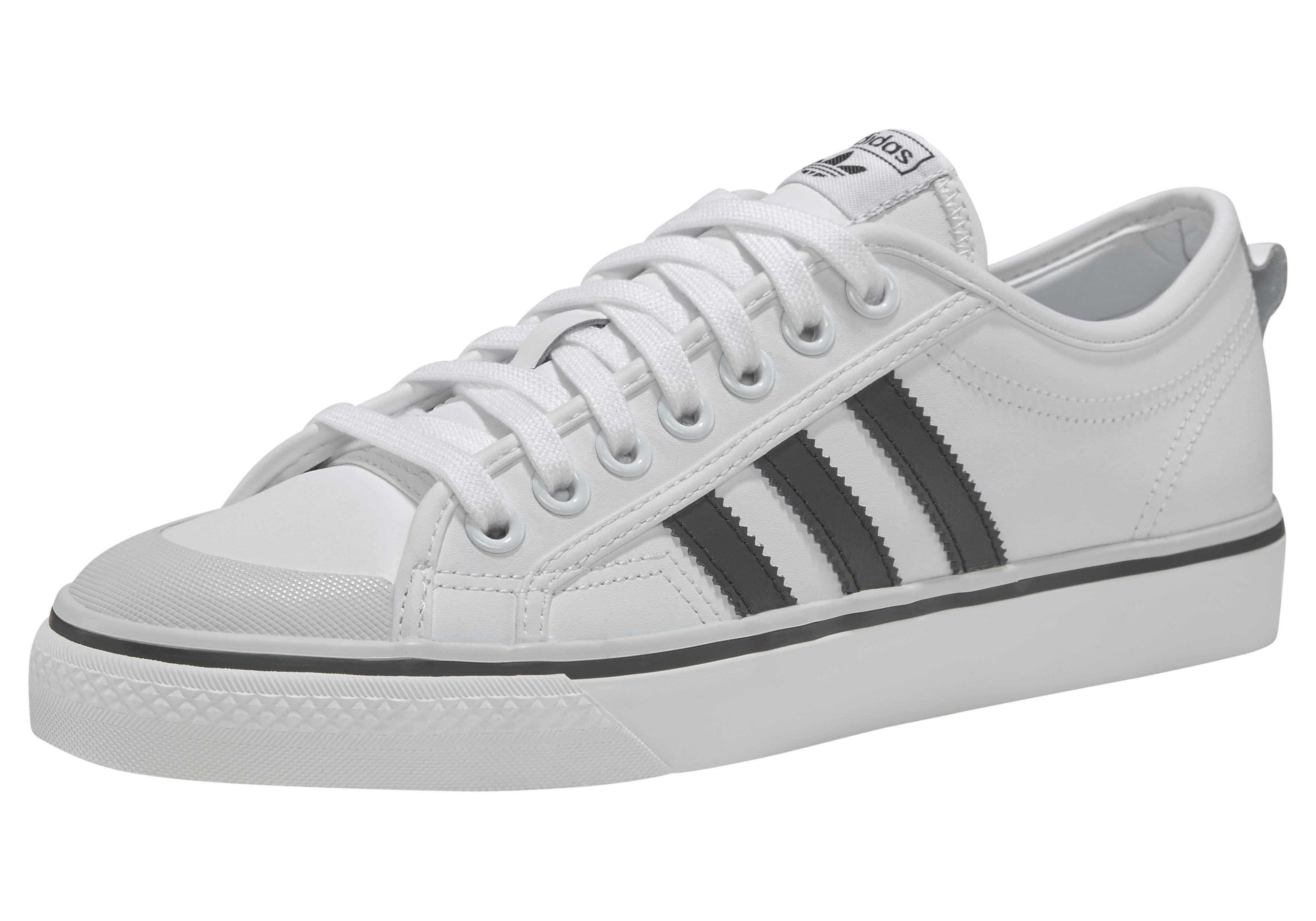 adidas Originals »Nizza« Sneaker, Weiches Obermaterial aus Leder online kaufen | OTTO