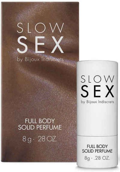 Bijoux Indiscrets Eau de Solide »Full body solid perfume- Slow Sex«