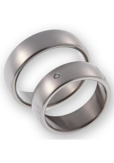 CORE by Schumann Design Trauring »20006171-DR, 20006171-HR, ST049.02«, Made in Germany - wahlweise mit oder ohne Diamant
