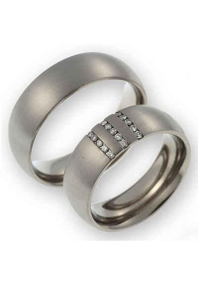 CORE by Schumann Design Partnerring »200006165 DR, 20006165 HR, ST044.05«, Made in Germany wahlweise mit oder ohne Diamanten