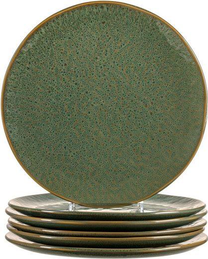 LEONARDO Speiseteller »Matera«, (6 Stück), Keramik, Ø 27 cm