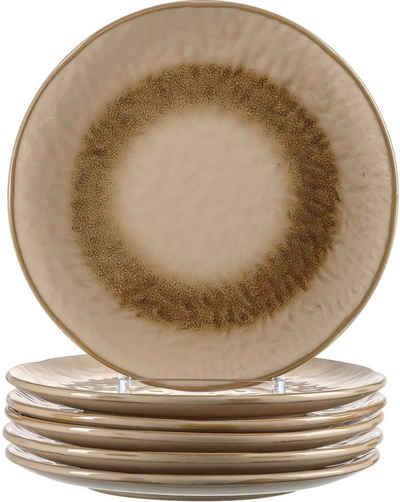 LEONARDO Dessertteller »Matera«, (6 Stück), Keramik, Ø 23 cm