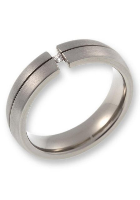 CORE by Schumann Design Partnerring »20006183-DR, 20006183-HR, ST051.04«, Made in Germany - wahlweise mit oder ohne Diamant | Schmuck > Ringe > Partnerringe | CORE by Schumann Design