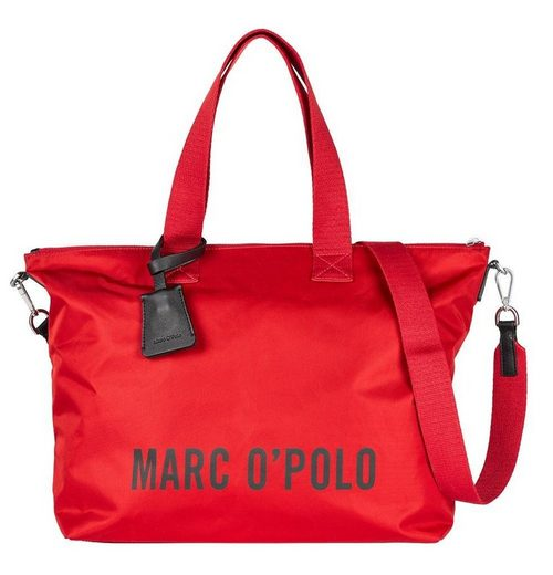 Marc O'Polo Shopper »JULE«, im großen Format mit auffälligem Marken-Schriftzug