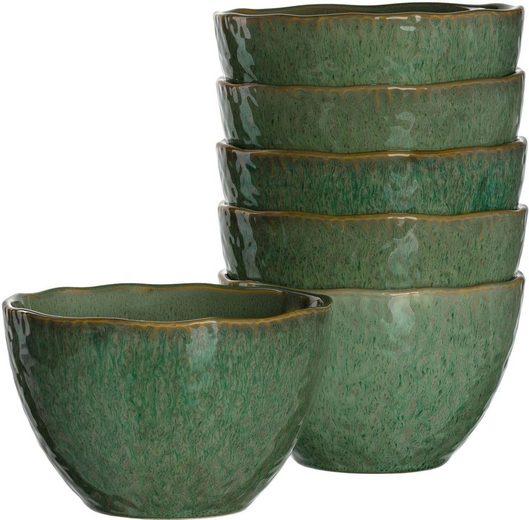 LEONARDO Dessertschale »Matera«, Keramik, (Set, 6-tlg)
