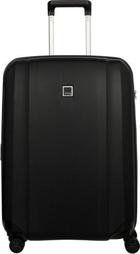 TITAN® Hartschalen-Trolley »Xenon, 67 cm, Black«, 4 Rollen