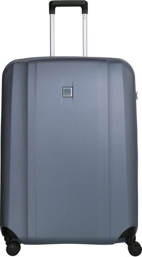 TITAN® Hartschalen-Trolley »Xenon, 76 cm, Bluestone«, 4 Rollen