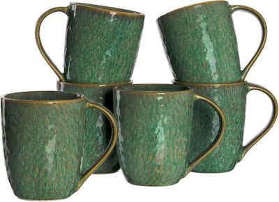 LEONARDO Becher »Matera«, Keramik, 430 ml, 6-teilig