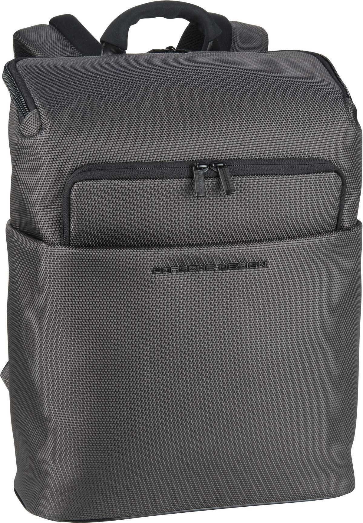 Unisex PORSCHE Design Rucksack / Daypack »Roadster 4.1 BackPack SVZ« grau, schwarz   04053533749355