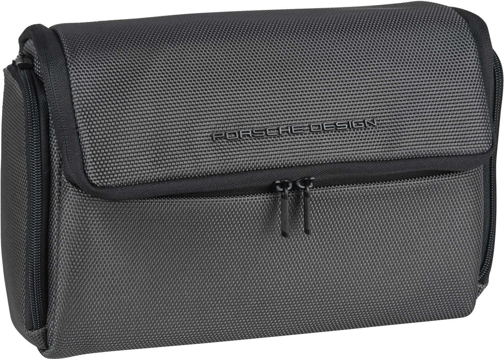 Unisex PORSCHE Design Kulturbeutel / Beauty Case »Roadster 4.1 WashBag MHF« grau | 04053533749010