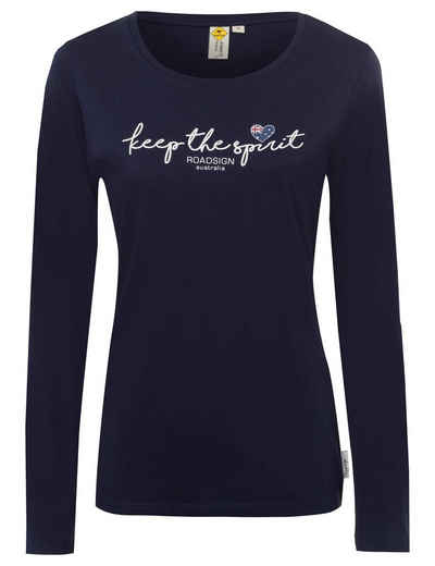 ROADSIGN australia Langarmshirt »Spirit Love« (1-tlg) mit Frontprint
