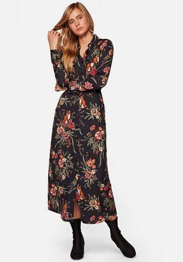 Mavi Maxikleid »DRESS W/BELT« mit floralem Alloverdruck und Gürtel