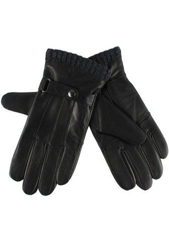 J.JAYZ Перчатки кожаные