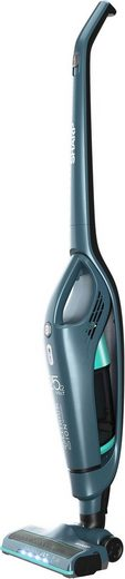 Sharp Akku-Hand-und Stielstaubsauger SA-VS3001AQ, 150 Watt, beutellos, Mit spezieller Tierhaar-Reinigungsbürste und LED-beleuchtetem Bürstenkopf