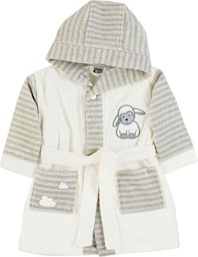 Babybademantel »Stanley«, Sterntaler®, mit Schaf Stanley