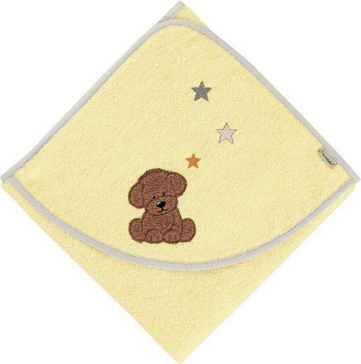 Sterntaler® Badetuch »Hanno« (1-St), mit Hund und Sternen