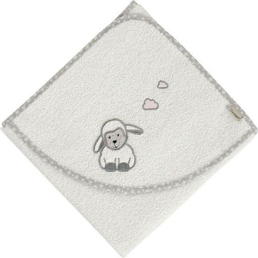 Sterntaler® Badetuch »Stanley« (1-St), mit Schaf und Wolken