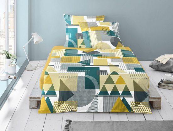 Bettwäsche »Capri 8158«, Irisette, mit unterschiedlichen Mustern