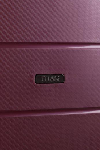 TITAN® Hartschalen-Trolley »Highlight  55 cm«  4 Rollen