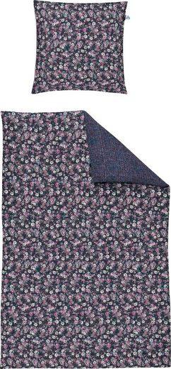 Bettwäsche »Carat-K 8801«, Irisette, mit kleine Blumen