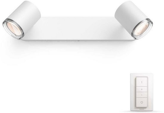 Philips Hue, LED Deckenspot »White Amb. Adore weiß 2250lm Dimmschalter«