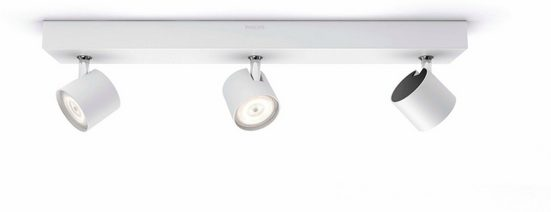 Philips LED Deckenspot »myLiving Star WarmGlow 1500lm, Weiß«, 3-flammig