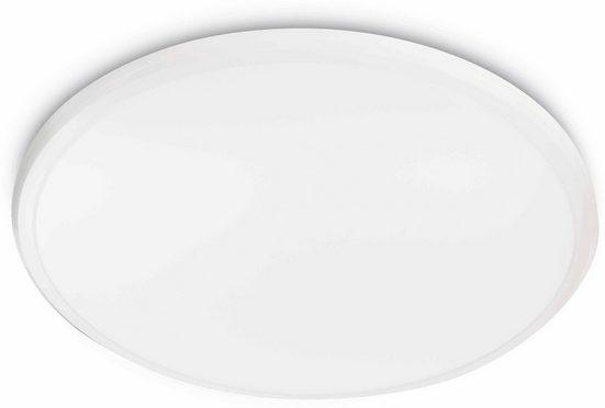 Philips LED Deckenleuchte »myLiving Twirly 2700K 1700lm, Weiß«