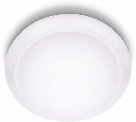 Philips LED Deckenleuchte »myLiving Cinnabar 2700K 1300lm, Weiß«