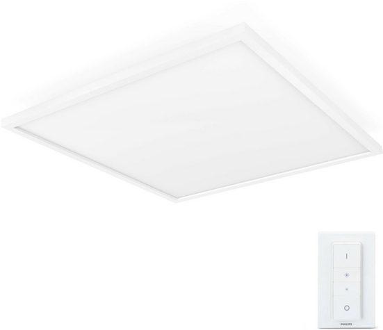 Philips Hue LED Panel »White Amb. Aurelle Panelleuchte eckig weiß 4200lm«, 1-flammig