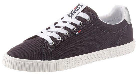 TOMMY JEANS »HAZEL 1C1« Sneaker mit Kontrastbesatz an der Ferse