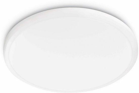 Philips LED Deckenleuchte »myLiving Twirly 2700K 1200lm, Weiß«