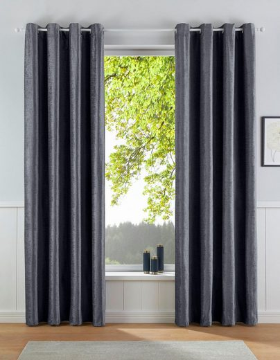 Vorhang »Satin«, my home, Ösen (1 Stück)