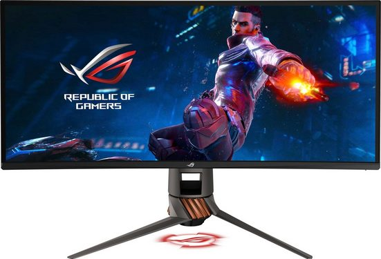 Asus PG349Q Curved-Gaming Monitor »86,36 cm (34) Ultra-Wide QHD (3440x1440), 4 ms«