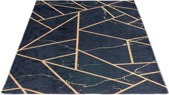 Teppich »Caimas 2990«, Sehrazat, rechteckig, Höhe 5 mm, waschbar, weiche Microfaser, Wohnzimmer
