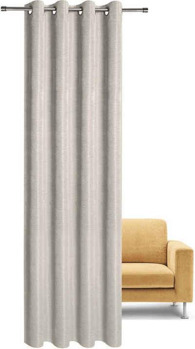 Vorhang »Malik«, Gerster, Ösen (1 Stück), HxB: 235x140, Ösenschal aus Dekostoff