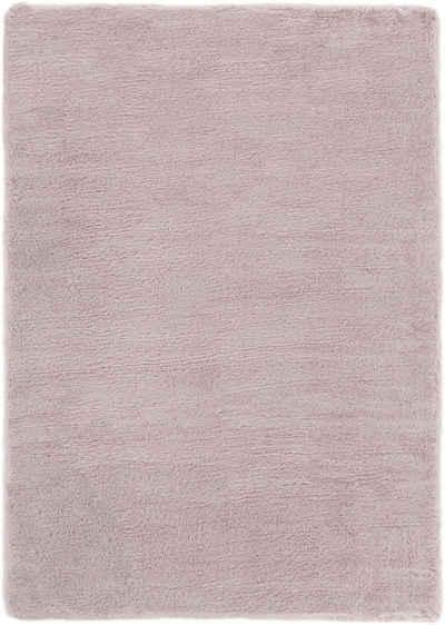 Fellteppich »Novara«, Andiamo, rechteckig, Höhe 35 mm, Kunstfell, Kaninchenfell-Haptik, ein echter Kuschelteppich, Wohnzimmer